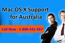 Apple Mac OS X Support 1-800-431-457 Australia for Version Update issues
