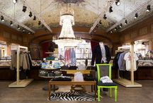 Retail Store Interiors / by Camilla Svensson Burns