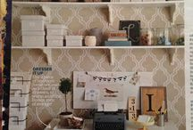 office revamp ideas / by Candice Aguilar