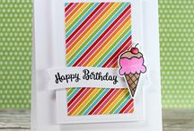 Brand: Avery Elle / Cards created with stamps and dies from Avery Elle