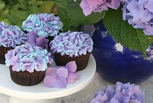 Flower cakes / Decorated