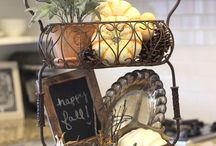 Vintage Country Fall Decor