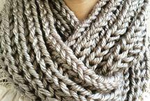 Tricô e lã / conforto, quentinho, feito a mão ou máquina