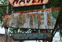 Vintage signs / Signs of the past / by Brent Carlile