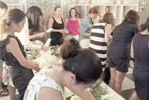 Our Flower Classes! / Come join us for a fun evening full of flowers! / by Bride & Blossom