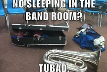 Once a band kid, always a band kid / by Crista Wilhite