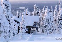 Laponia (Círculo Polar Ártico) / Los paisajes más inhóspitos y sobrecogedores...#Laponia