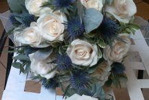 Wedding at Gaby-Szi / Flower bouquets, flower arrangements