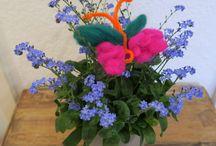 Basteln für den Muttertag / Kinderleichte Bastelideen für den Muttertag. / Mother's Day Ideas