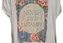 Fashionable TShirts / Super comfortable t-shirts that are trendy and contemporary. These t-shirt are not your average white tee. They are unique and fashionable. They will be sure to turn heads everywhere!
