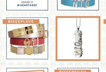 Independent Designer  - KEEP Collective / Sarah Schmitz Independent Designer for KEEP Collective the new line from Stella & Dot. Personalized pieces that remind you of what is most important to you.  / by Sarah Shaddy Schmitz