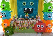 Boy birthday parties