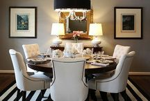 Dining Spaces that Inspire... / Benjamin Moore - Amherst Gray HC-167