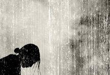 take in the rain