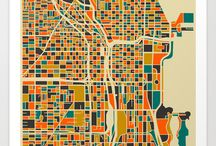 maps / by Dânia Lima
