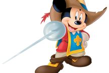 Micky, Donald and Goofy: The Three Musketeers