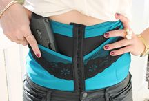 Limited Edition SLIM Envy / The limited edition SLIM Envy conceal carry corset for women. www.deneadams.com