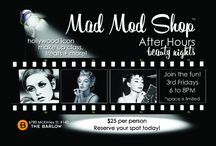 Mad Mod Shop Events