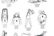 Oefeninge strek skouers