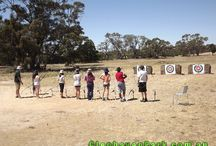 Archery / Archery helps improve concentration, boosts confidence, and self-image. It's a sport that's fun, but also allows participants of any age or skill level to compete against others or challenge themselves individually.