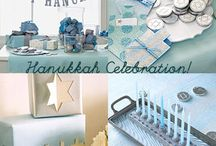 Chrismukah / Joint Christmas and Hannukah celebration