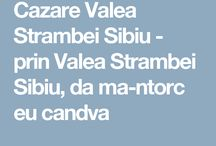 Cazare Valea Strambei Sibiu