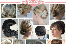 Beauty--HAIR / Beautiful hairstyles. Tips for beautiful hair. Tutorials and how-to's / by Jennifer Brown