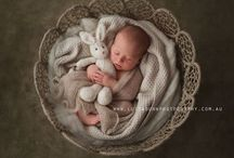 3 Month Baby Portraits - Easter Theme