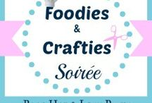 Foodies & Crafties Soiree - The Best Of / Best bloggers creations shared at the Foodies & Crafties Soirée link party. #foodiescraftiessoiree, #linkparty, #bloghop / by Gosia | Kiddie Foodies