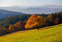 Slovakia in autumn