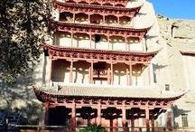 China Top Buddhist Grottoes / The Stone grottoes art originated from India, was introduced into China in the 3th century. In North China, there were two Buddha statues construction hurricanes swept over China during the 5th and the 7th century when most grottoes emerged vibrantly at that time.