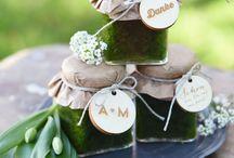 Natural wedding Favors