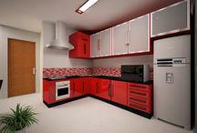 Projeto de cozinha / Projeto realizado para a reforma da cozinha da família Falcioni