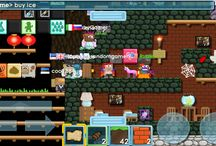 Famous people with me on growtopia