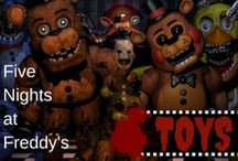 Five Nights at Freddy's TOYS / A collection about FNAF Toy