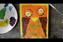 wepaint.dk for børn / Gode ideer når du skal male med børn!