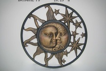 The sun and tge moon