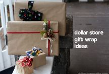 Gift Wrap Ideas / by Carleen Cook