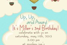 Festa balões e aviões