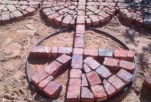 broken brick paths