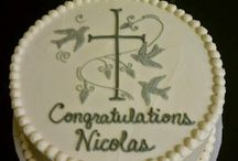 Baby shower/Baptism cakes