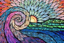 Quilled nature art