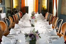 Banquet Halls and Rooms. / Ballinacurra House offers a wide range of banqueting facilities, with individual approach to capacity and a variety of seating and table banqueting options.