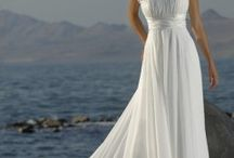 Bride and bridesmaids dresses / by Olivia