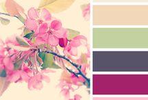 La Vie en Rose: Color Palettes