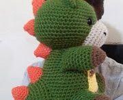 dragones a crochet