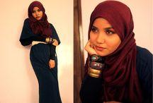 hijabi fashionista / by Hijabi Mommy