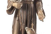 I would love to place this statue of St. Francis of Assisi (Patron Saint of Animals) in my own garden someday! / I would love to place this statue of St. Francis of Assisi (Patron Saint of Animals) in my own garden someday!
