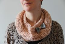 Doe Doe - SnOOd / Snoods tricotés à la main à accessoiriser!