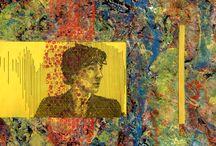 Artworks / Výtvarná tvorba Autorka: Veronika Weberová Abstrakcie a krížené kresby